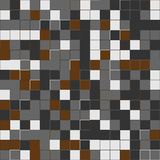 Random brown squares. Random colored abstract, digital generative art for design texture & background. Random colored abstract, digital generative art for Stock Photography