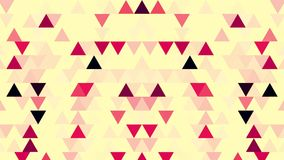 Random Changing Geometrical Graphics Shapes Colored Figures Motion Animation. Triangles Abstract Background Animation. Seamless Loop. Pastel Pixel Animation stock video