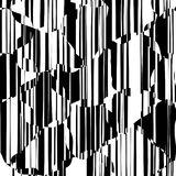 Random Chaotic Lines Abstract Geometric Pattern Royalty Free Stock Photos