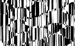 Random Chaotic Lines Abstract Geometric Pattern Stock Photography