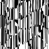 Random Chaotic Lines Abstract Geometric Pattern Royalty Free Stock Photo