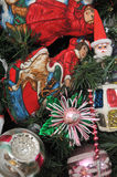Random christmas assortment royalty free stock images