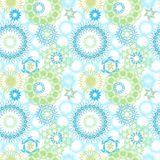 Random Circle Patterns Stock Image