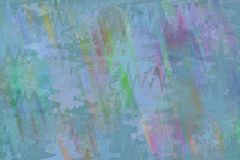 Shape pattern artistic abstract background. Circle, stroke, fashion & generative. Random circle, square, rectangle & triangle shape, digital generative art for Royalty Free Stock Photos