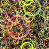 Random circles abstract Royalty Free Stock Photography