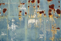 Random collage or rusty wall background texture Stock Images