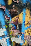 Random collage texture paint eroded wall Stock Photos