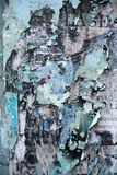 Random collage texture paint eroded wall Royalty Free Stock Photos