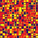 Random color squares. Random colored abstract, digital generative art for design texture & background. Random tile. Random colored abstract, digital Royalty Free Stock Photo