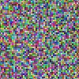 Random colored circles. Colored circles generated randomly with small black circles Stock Photography