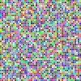 Random colored squares Stock Images