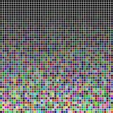 Random colored squares. Colored squares generated randomly and spread randomly Stock Photo