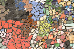 Random colored tiles Stock Image