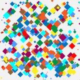Random colorful geometric pattern / texture. Mottled illustratio Royalty Free Stock Images