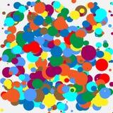 Random colorful geometric pattern / texture. Mottled illustratio Royalty Free Stock Photos