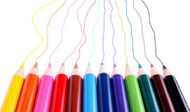 Random Colorful Lines Royalty Free Stock Photo