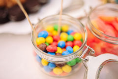 Random colors Candies Stock Photography