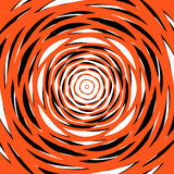 Random concentric circles. Abstract background with irregular ci Stock Image