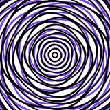 Random concentric circles. Abstract background with irregular ci Royalty Free Stock Photography