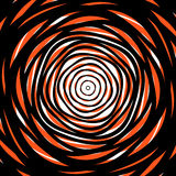 Random concentric circles. Abstract background with irregular ci Royalty Free Stock Images