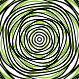 Random concentric circles. Abstract background with irregular ci Royalty Free Stock Photo