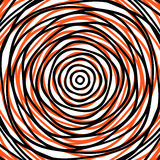 Random concentric circles. Abstract background with irregular ci Royalty Free Stock Image