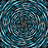 Random concentric circles. Abstract background with irregular ci Stock Photography