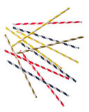 Random Drinking Straws Stock Photos