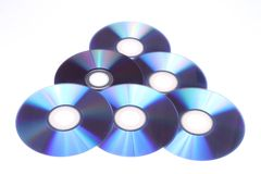 Random DVDs Royalty Free Stock Image