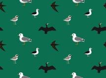 Random European Birds Wallpaper 3 Royalty Free Stock Image