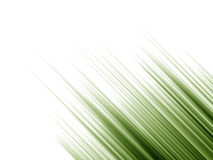 Random Green Gradient Shoots. Layered  illustration of green gradient lines shooting diagonally over white background Royalty Free Stock Photography