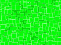 Random green Squares Background Royalty Free Stock Photo