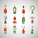 Random Icons Royalty Free Stock Photo