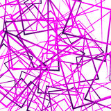 Random intersecting lines, squares. Modern colorful geometric te Stock Photos