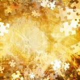 Random jigsaw pieces Stock Image