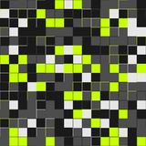 Random lime squares. Random colored abstract, digital generative art for design texture & background. Lime tile. Random colored abstract, digital generative Stock Photos