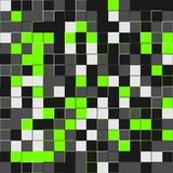 Random lime squares. Random colored abstract, digital generative art for design texture & background. Random colored abstract, digital generative art for Royalty Free Stock Images
