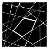 Random mosaic. Irregular cobblestone geometric pattern. Tessella Stock Photo