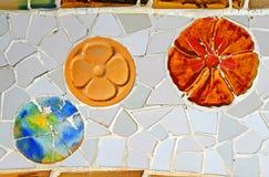 Random Mosaic Pattern stock images