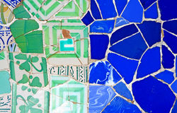 Random Mosaic Pattern Royalty Free Stock Photography
