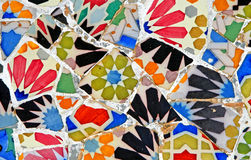 Random Mosaic Pattern Stock Photography