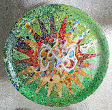 Random Mosaic Pattern Stock Photo