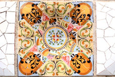 Random Mosaic Pattern - Gaudi Royalty Free Stock Photography