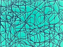 Random network abstract background. Royalty Free Stock Images