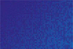 Random numbers 0 and 1. Background in a matrix style.  Abstract digital backdrop. Vector illustration Stock Image