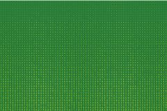 Random numbers 0 - 9. Background in a matrix style. Code pattern with digits on screen, falling character. Stock Photos