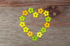 Random Pattern Love Flowers Valentines Day Stock Photography