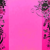 Random Pink Background Stock Photo