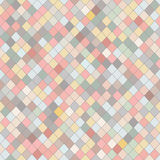 Random rhomb texture. Colorful seamless pattern. Royalty Free Stock Image