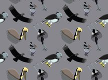 Random South American Birds Wallpaper 1 Stock Photography